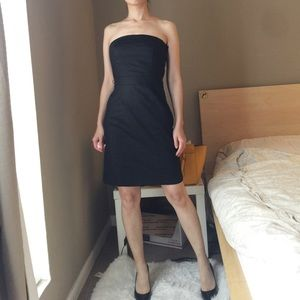 NWT H&M Strapless Dress In Black.-I3.